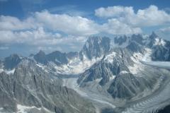 La Vallée Blanche, les Grandes Joraces, la Dent du Géant